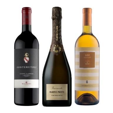【新商品】自宅で楽しむ!ワインとイタリアンコース(1名様分)のペアリングセット+富田葉子講師のZOOMセミナー付